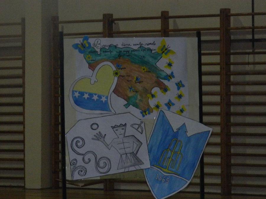 Svecano Obiljezen Dan Drzavnosti U Nasoj Skoli Sms Zijah